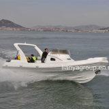 Boot van de Rib van de Boot van de Patrouille van de Snelheid van Liya 27feet de Militaire met Ce