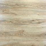 Azulejo de suelo esmaltado ceniza natural de la porcelana de la madera