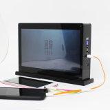 Carregador ereto personalizado com 10.1 o jogador do anúncio de tela da polegada 1080P IPS HD LCD