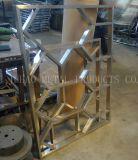 Kupfer - farbiger Edelstahl-Bildschirm, leistungsfähige ästhetische Edelstahl-Partition