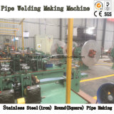 De vierkante Ronde Pijp die van het Roestvrij staal de Lijn van de Machine maken