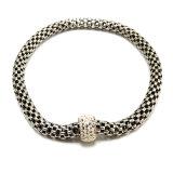 Joyas de diamantes de la moda brazalete de acero inoxidable de regalo Decoración