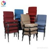 フォーシャンの工場教会Hly-AC33のための快適なスタック可能金属教会椅子
