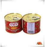 210g a mis en boîte la sauce tomate en boîte par légume pour le Bénin