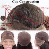 Parrucca naturale dell'onda del corpo del merletto della parte anteriore dei capelli umani di Dlme per le donne di colore
