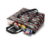 15L女性の食糧ピクニッククーラー袋によって絶縁される熱袋のお弁当箱の記憶袋のための携帯用PUの革熱の昼食袋