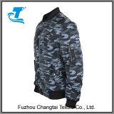 Куртка бомбардировщика добавочных людей размера воинская проложенная
