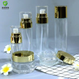 Oferta promocional de alta qualidade de cuidados da pele frasco de vidro de garrafas para produtos cosméticos