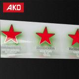 Trois d'Épreuvage Shampooing étanche des étiquettes autocollantes