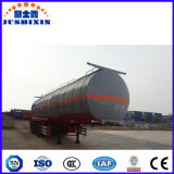 Remorque liquide chimique lourde de réservoir de transport de 3 essieux