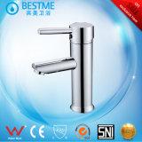 衛生製品の浴室の洗面器のコックによってクロム染料で染められる真鍮の混合弁(BM-B10026)
