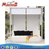 Daybed 2018 del raggruppamento esterno di lusso della mobilia di Maryard e spiaggia di alluminio Sunbed