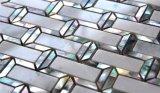Nuevo azulejo de mosaico del mármol de la mezcla del shell del diseño 2017 para la pared 300*300m m