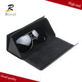 Cassa degli occhiali da sole del triangolo, stampa su ordinazione piegante della cassa di vetro