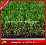 Erba artificiale di plastica di Gree di paesaggio dell'erba naturale del giardino