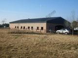 Casa de la estructura de acero de la granja de cerdo