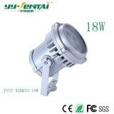 18W impermeabilizan la lámpara del proyector del LED para el paisaje