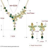 方法イヤリングおよびネックレスのHotsaleの女性の宝石類セット
