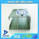 Profil en aluminium de Guinée pour la porte coulissante de tissu pour rideaux de guichet