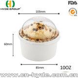 Revêtu de PE 10oz de la crème glacée bol de la coupe du papier avec impression personnalisée