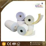 57mm*57mm Rollo de papel autocopiativo de impresora de recibos (de cualquier tamaño es ok).