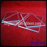 Parte polacca di vetro di quarzo fuso del diametro del fuoco grande