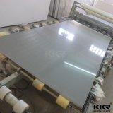 Laje artificial branca pura da pedra de quartzo do fabricante de Kkr