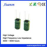 200V 22UF 10*16mm Elektrolytische Hoge Frequentie van de Condensator