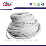 Câble de cuivre isolés en PVC plat câble plat à plat sur le fil de câble électrique