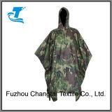 De unisex- Poncho van de Regen van de Camouflage voor OpenluchtActiviteiten