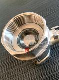 ステンレス鋼の完全なポートの女性糸2PCの球弁