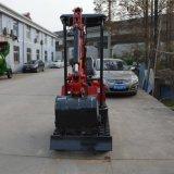 (CX10T) Altura da Placa Bulldozing 345mm Mini escavadeira hidráulica