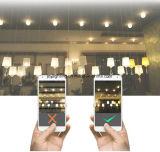 2700K Tampa Transparente E27 4W 410lm levou a lâmpada de incandescência
