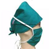 A enfermeira reusável Washable autoclávica do algodão cirúrgica esfrega chapéus