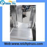 Tipo usuale materiale di alluminio piegante barriere delle barriere