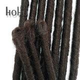 Poils synthétiques de 16 pouces Backcombed redoute le Tissage de cheveux