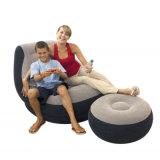 オットマンのフィートの腰掛けのシートが付いている膨脹可能でデラックスなラウンジのLoungerの椅子はソファを緩める
