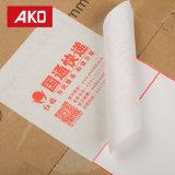 Wasserdichte weiße Pergamin-Zwischenlage-Etikett-Verschiffen-Kennsätze Löschen-weg