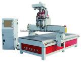 O baixo custo 3 Eixos máquina para trabalhar madeira Router CNC de corte de madeira