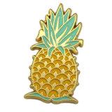 Pin отворотом золота темы праздника формы ананаса глянцеватый