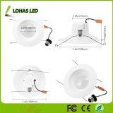 6 pouces 15W E26 Rénovation Lumière blanche ajustable (2000K-6500K) vers le bas lumière Wi-Fi