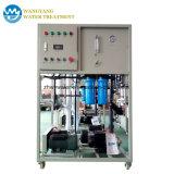El agua de mar al agua potable a la máquina