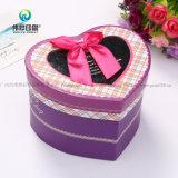 Kundenspezifisches Inner-geformter Art-Pappschokoladen-Kasten/Süßigkeit-Kasten mit Belüftung-Fenster