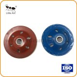 Rouge et bleu 100 mm Forme de cuvette de diamant Meule pour béton