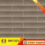azulejo de suelo de cerámica de madera de 150X600m m (6M1503)