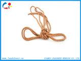 Полиэфир/Nylon изготовленный на заказ круглая веревочка шнура для одежд и мешков