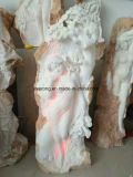 Detailed Carving Marble Sculpture Vividly Girl Figure Statue for Decoration