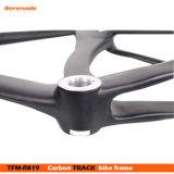 カーボンファイバーの固定ギヤ部品のフォーク+ Seatpostの単一の速度トラックバイクフレーム