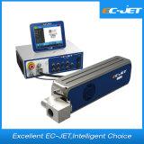 Impresora laser del CO2 de la máquina del fechado del vencimiento de la botella de cerveza (EC-laser)