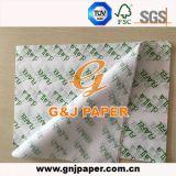 OEM de la pulpa de madera Embalaje Sandwich impresos de papel para envolver alimentos